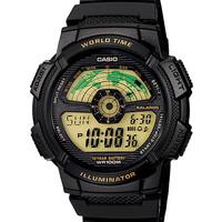 Casio AE-1100W-1BV jam tangan remaja karet hitam-42mm ori Buana Jam
