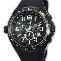 Christ Verra Cv 83220g-36 jam tangan pria karet hitam-48mm ori Buana J