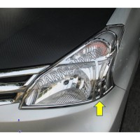 Harga garnish chroom lampu depan headlamp all new avanza | antitipu.com