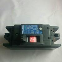 Mitsubishi MCCB NFB no fuse breaker 2P 20A