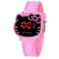 jam tangan digital hello kitty