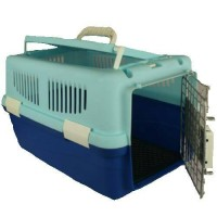 Pet Carrier-Cargo Kucing Box 2 Pintu Coffe
