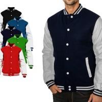 Basic Baseball Varsity Jacket