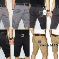 Jual Celana Pendek Chino Zara Man / celana chinos | pendek |Vans Murah