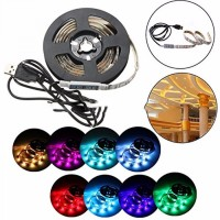 Led Strip 5050 RGB 2 meter Waterproof + USB Controller