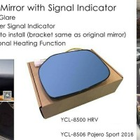 Blue Mirror with signal indicator