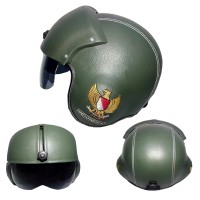 harga Helm Pilot Bro.co Motif Garuda Green Army Tokopedia.com