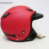 harga Helm Retro Pilot Klasik Jpn Momo Magenta Doff + Pet Tokopedia.com