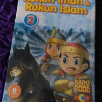 PAKET VCD SYAMIL DODO NADIA RUKUN IMAN & RUKUN ISLAM VOL 2