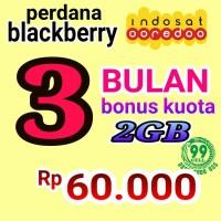 BLACKBERRY INDOSAT 3 BULAN MURAH