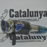 Harga knalpot termignoni blue full system leher cacing db killer new | Pembandingharga.com