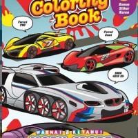 Coloring Book: Mobil Sport Masa Depan