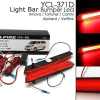 LED BAR BEMPER GRAND INNOVA-FORTUNER-CAMRY-VELLFIRE 2012-2015
