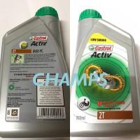 Oli Samping Castrol Activ 2T Low Smoke / Castrol Oli Samping 2T (0,7L)