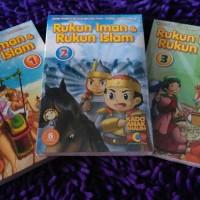 3 PAKET VCD ANAK SYAMIL DODO: Rukun Iman Rukun Islam VOL 1, 2 dan 3