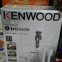 KENWOOD HAND TANGAN BLENDER HB724 700W TRIBLADE 23 FUNCTIONS
