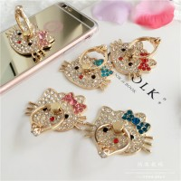 Jual Ringstand Hello Kitty Diamond Cyrstal Swarovski | Iring Kristal Ring H Murah