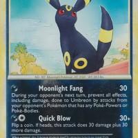 Kartu Pokemon HGSS Call of Legends Umbreon REV Holo Rare Card No 22/95