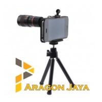 harga Tele Lens / Lensa Tele Zoom 8x + Tripod Mini - Phone Telescope Tokopedia.com