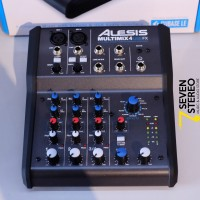 Alesis Multimix 4 USB FX 4 Channel Mixer With FX And Audio Interface