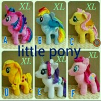 mainan anak boneka my little pony xl