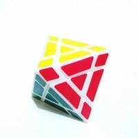 Rubik QJ trajber octahedron diamond cube twisty puzzle Berkualitas