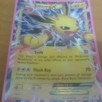 Kartu Pokemon Original US Jolteon EX Generations