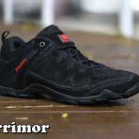 harga Sepatu Pria Karrimor Summit Low Boots Black Kulit Sued Tracking Hiking Tokopedia.com