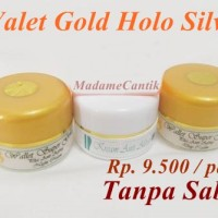walet gold holo silver