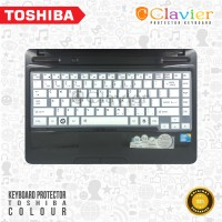 Jual TOSHIBA Color Keyboard Protector/Garskin Laptop/Screen Protector Murah