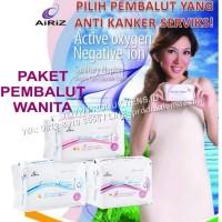 Jual Paket Pembalut Wanita Airiz Tiens Day Night Dan Pantyliner Herbal Murah