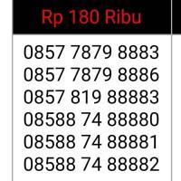 kartu perdana indosat super hoki tripe/kuartet 8888 nomor cantik murah
