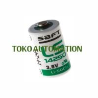 Baterai PLC Saft LS14250 3.6V 1/2 AA Battery PC70