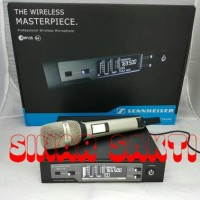 Murah Mic Wireless Sennheiser EW 135 G4 ( Single Mic ) Multi Channel
