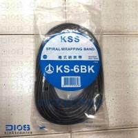 Spiral Wrapping Band KSS KS-6 BK (10M)