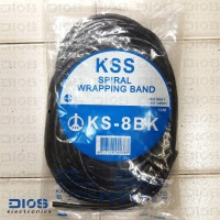 Spiral Wrapping Band KSS KS-8 BK (10M)