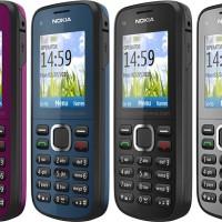 Handphone C1-02 Candybar | HP Nokia C1-02 Murah Bisa Mp3 dan FM Radio