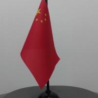 BENDERA NEGARA CINA/CHINA |Koleksi Pajangan Dekorasi Rumah Kantor Unik