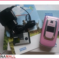 [Diskon] Nokia 6085 Flip Pink | Nokia Jadul Ori | Hp Jadul Murah