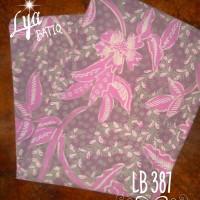 Kain Batik Tulis Madura Kenanga Wungu LB 387