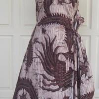 Kain Batik Tulis Madura Motif Serat Kayu Ungu LB 287