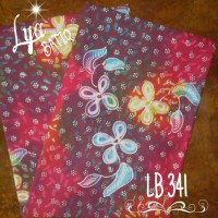 Kain Batik Tulis Madura Rintik Melati Sembur Pancawarna LB 341