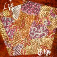 Batik Tulis Madura Sekarjagat Coklat Pink LB 404