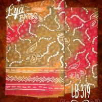 Kain Batik Tulis Madura Biji Sembur LB 379