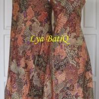 (Sepasang/2pc) Batik Tulis Sutra Madura Sekarjagat Pancawarna LBS 8-9