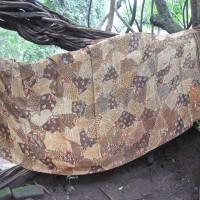 Kain Batik Tulis Sutra Madura Sekarjagat Coklat LBS 11