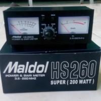 SWR & POWER METER MALDOL HS260 Lolos Uji