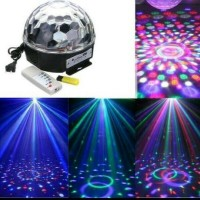 led magic ball MP3 / lampu disco music jamur MP3 bola musik