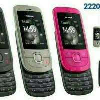 Handphone NOKIA slide 2220 New refurbish