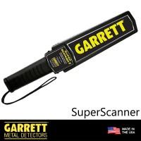 Garrett SuperScanner Metal Detector Original USA Super Scanner Asli